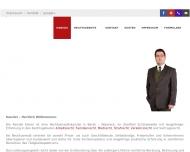 Bild Webseite Rechtsanwalt Michael Eisner Berlin