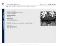 Bild Webseite Anwaltskanzlei Ulrich Müller Berlin