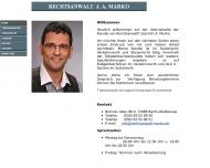Bild Webseite Rechtsanwalt Joachim A. Marko Berlin