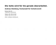 Bild Webseite Rechtsanwalt Andreas Steinberg Berlin