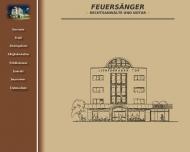 Bild Webseite Rechtsanwalt Hendrik Feuersänger Berlin