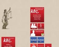 Bild Webseite kbz.Rechtsanwälte*Steuerberater - Berlin Berlin