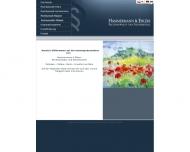 Bild Webseite Hammermann & Ehlers Rechtsanwalts- und Steuerkanzlei Berlin