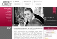 Bild Webseite Manthey & Kahnert Partnerschaft von Rechtsanwälten Berlin