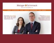 Bild Webseite Metzger & Schirmack Rechtsanwälte Berlin