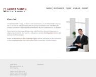 Website Kanzlei Jakob Simon