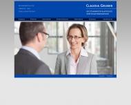 Bild Webseite Rechtsanwältin Claudia Gruber Leipzig