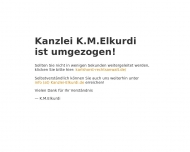 Bild Webseite Rechtsanwalt K. Michael Elkurdi Berlin