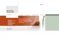 Bild Webseite Henning Haarhaus Berlin