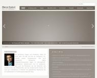 Bild Webseite Rechtsanwalt Marco Kraiczi Berlin