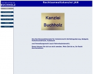 Bild Webseite Rechtsanwalt Jan Buchholz Berlin