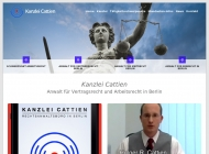 Website Rechtsanwalt Holger Cattien