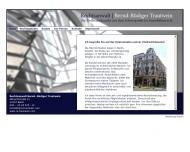 Bild Webseite Rechtsanwalt Bernd-Rüdiger Trautwein Berlin