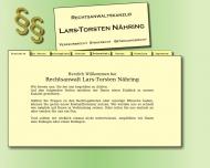 Bild Webseite Rechtsanwalt Lars-Torsten Nähring Berlin