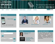 Bild London Speaker Bureau Germany