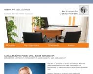 Bild Webseite Rechtsanwältin Dipl.-Jur. Geertje Niemann Hannover