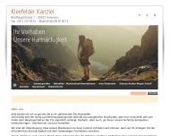 Bild Webseite Rechtsanwältin Diplom-Juristin Ines Peterseim Hannover