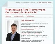 Bild Rechtsanwalt Arne Timmermann