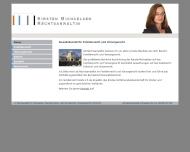 Bild Webseite Rechtsanwältin Kirsten Michaelsen Hamburg