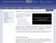 Bild Webseite Rechtsanwalt Matthias Reichwald Berlin