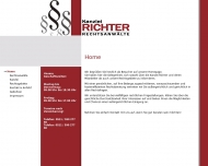 Bild Webseite Rechtsanwalt Kai Richter Hannover