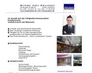 Bild Webseite Michael Hans Weissbach Hamburg