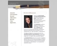 Bild Webseite Rechtsanwalt Lutz Baxmeier Berlin