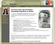 Bild Webseite Rechtsanwältin Bettina Hassler Berlin