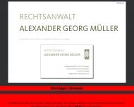 Bild Webseite Rechtsanwalt Alexander Georg Müller Hannover