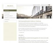 Bild Webseite Rechtsanwalt Tobias P. Helbing Hamburg