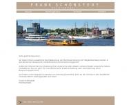 Bild Webseite Rechtsanwalt Frank Schönstedt Hamburg