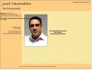 Bild Webseite Rechtsanwalt Josef Nasereddin Berlin