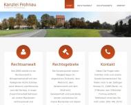 Bild Webseite Rechtsanwalt Friedrich Ohnesorge Berlin