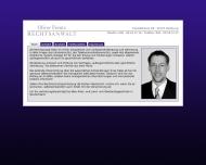 Bild Webseite Rechtsanwalt Oliver Frentz Hamburg