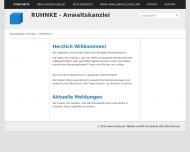 Bild Webseite Rechtsanwalt Felix Ruhnke Hamburg