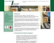 Bild Webseite Kanzlei Steffens Berlin
