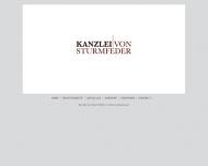 Bild Webseite Rechtsanwältin Luise von Sturmfeder Hamburg