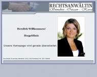 Bild Webseite Rechtsanwältin Sündüz Özcan-Kara Dortmund