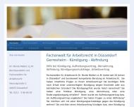 Bild Webseite Rechtsanwältin Dr. Nicole Nießen Düsseldorf