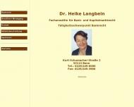 Bild Rechtsanwältin Dr. Heike Langbein
