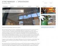 Bild Webseite Rechtsanwalt Dr. Stefan Blume Düsseldorf
