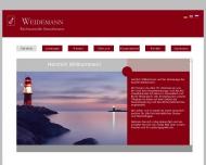 Bild Webseite Rechtsanwalt Volker Weidemann Düsseldorf