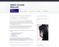 Bild Webseite Rechtsanwalt Marc Oliver Möller Dortmund