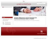 Bild Webseite Rechtsanwalt Karl-Matthias Göbel Düsseldorf