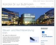 Bild Rechtsanwalt Dr. jur. Hans-Joachim Bußmann