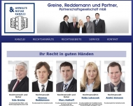 Bild Rechtsanwälte Greine, Reddemann und Partner