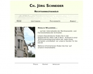 Bild Rechtsanwalt Ch. Jörg Schneider