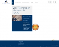 Bild Webseite Rechtsanwalt Stefan Arnst Düsseldorf