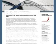 Bild Webseite Rechtsanwalt Dr.jur. Horst Metz Köln