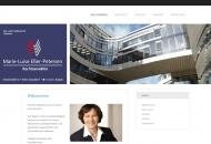 Bild Webseite Rechtsanwältin Marie-Luise Eßer-Petersen Düsseldorf